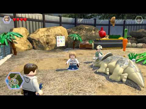LEGO JURASSIC WORLD |# cap. 3 GAMEPLAY comentado en español ( LET'S PLAY )