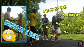 LUCUU!! - PRANK PURA-PURA BISU KE CEWEK CANTIK - PRANK INDONESIA