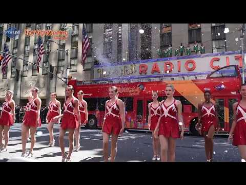 The Rockettes Perform at Christmas in August