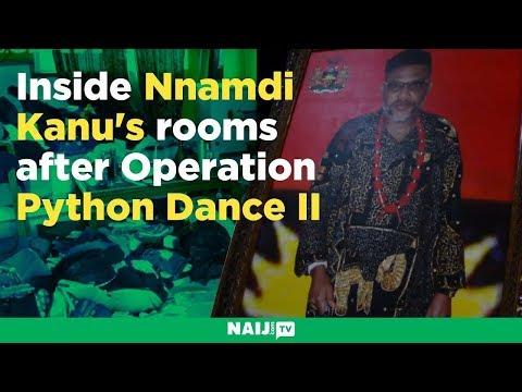 Inside Nnamdi Kanu's rooms after operation Python Dance II