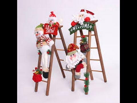 Escaleras navide as decoracion navide a youtube - Decoracion navidena escaleras ...
