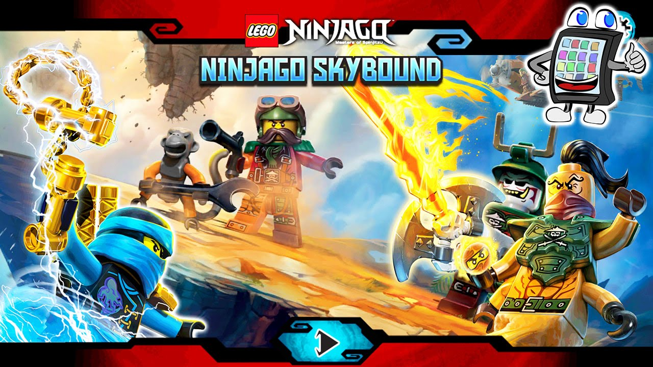 lego ninjago skybound spiel f r android ios deutsch lego spiele f r kinder youtube. Black Bedroom Furniture Sets. Home Design Ideas
