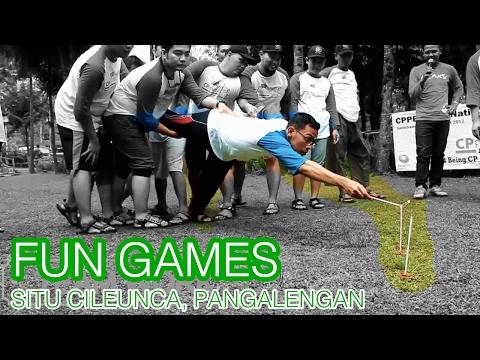 fun-games-/-ice-breaking-seru-di-situ-cileunca,-pangalengan