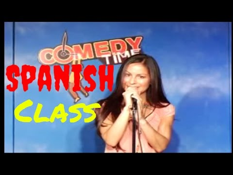 Spanish Class - Anjelah Johnson - Comedy Time (Funny Videos)