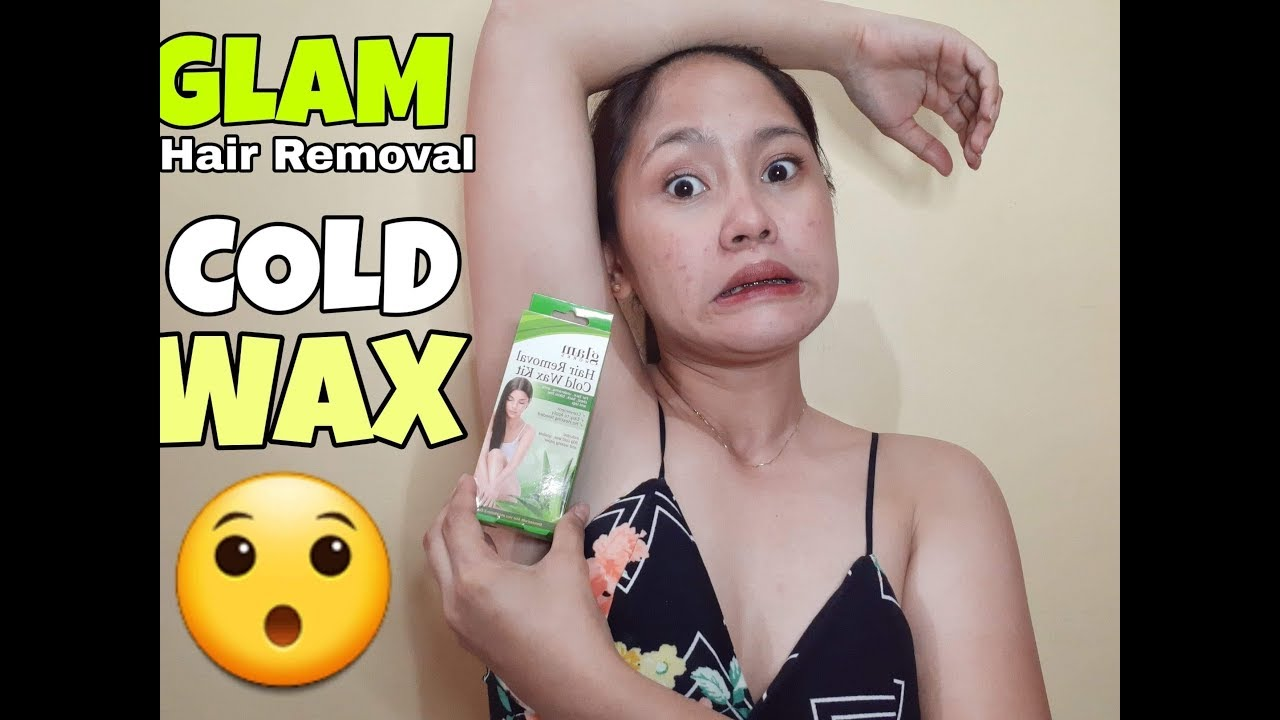 Glam Hair Removal Cold Wax Youtube