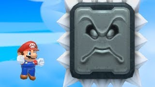 Dying by incredibly painful means in Super Mario Maker 2