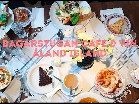 Must Visit: Bagarstugan Cafe & Vin!!! Travel to Åland Islands in Finland!! 2017