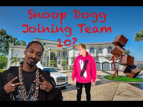 Team 10 House Snoop Dogg Music Video (Murder Was The Case)