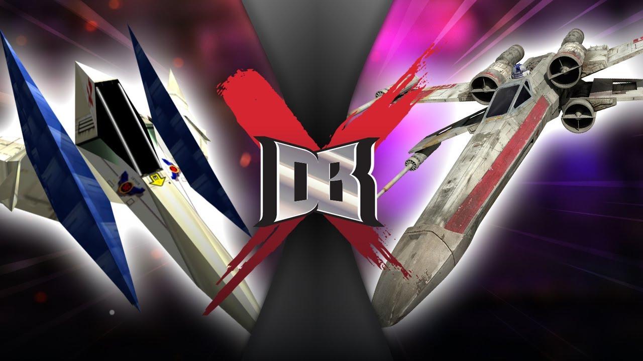 X-Wing vs Arwing (Starwars VS Star Fox ) | DBX