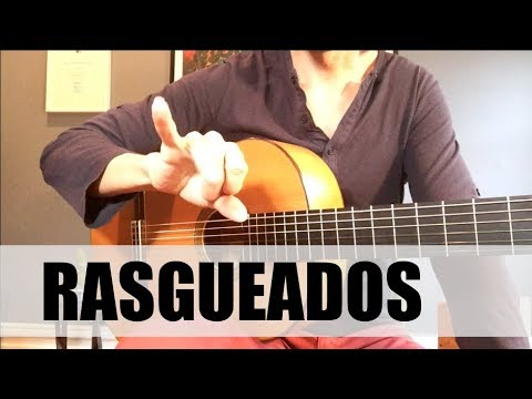 How To Play Rasgueados (EASY!) | Flamenco Guitar