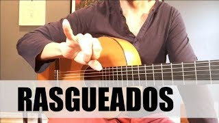 How To Play Rasgueados (EASY!) | Flamenco Guitar (Diego Alonso Music | Guitar )