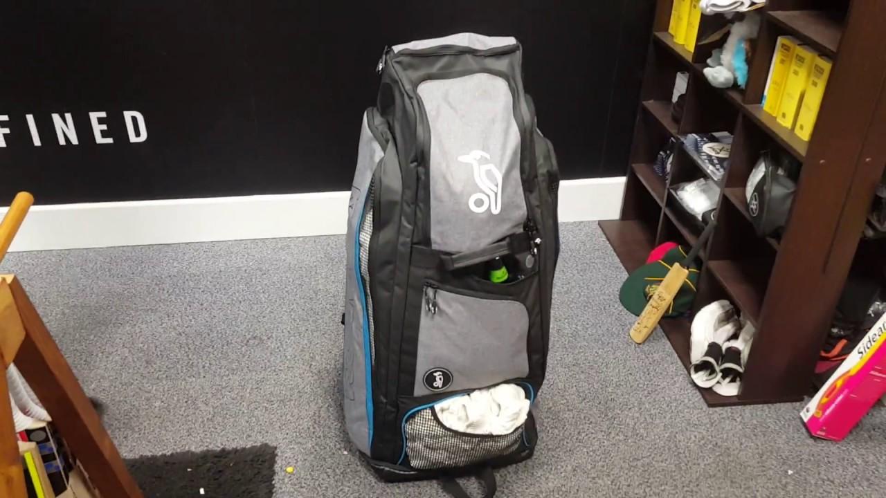 5e81f2ec2cab Kookaburra Pro Xtreme Cricket Duffle Bag Review