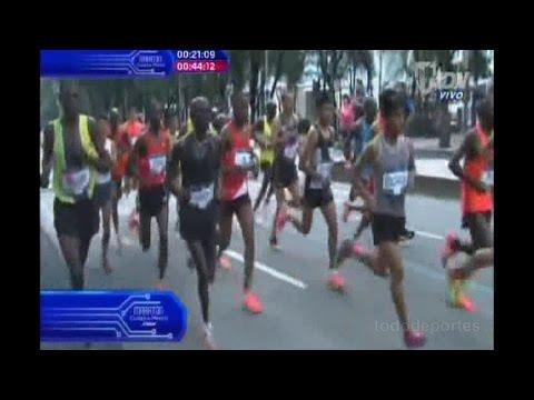 Maratón de la Ciudad de México completo 2016