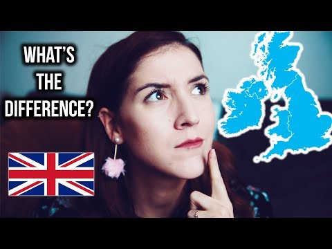 Difference between England, Great Britain and the UK... #germangirlinlondon