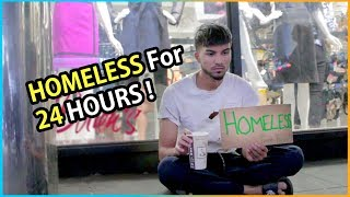 24 HOUR HOMELESS Challenge (Social Experiment) | Habib Edition