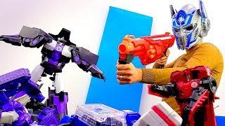 Игры с Трансформерами. Сила Оптимуса Прайма и Энергетический куб.
