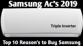 Samsung Ac's 2019.Top 10 Reason to Buy SAMSUNG in 2019.Best Ac in 2019.
