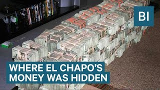 Cartel wives reveal where El Chapo's money was hidden