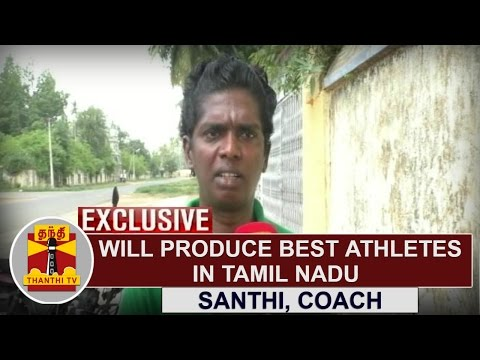 EXCLUSIVE | Will produce best athletes in Tamil Nadu | Santhi Soundarajan, Coach in SDAT