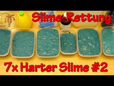 Slime-Rettung: 7 Tricks gegen harten Slime - Rettung harter Slime #2