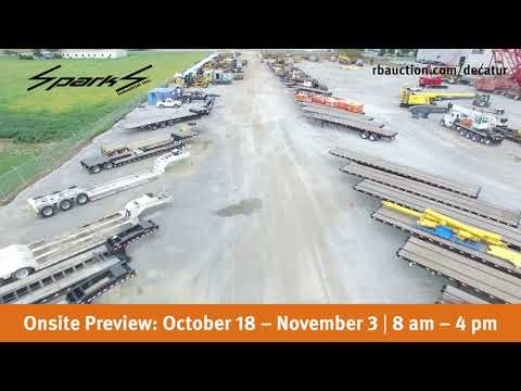 Ritchie Bros. hosting giant crane auction in Decatur, AL for...