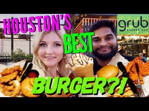 Best Burger In HOUSTON, TEXAS?! (Grub Burger Bar)
