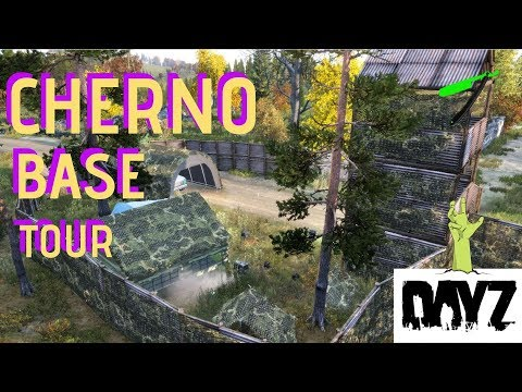 DayZ 1.04 🧟‍♂️ Base Tour /Best Base Location Cherno Industrial 🎮 PS4  Xbox One -