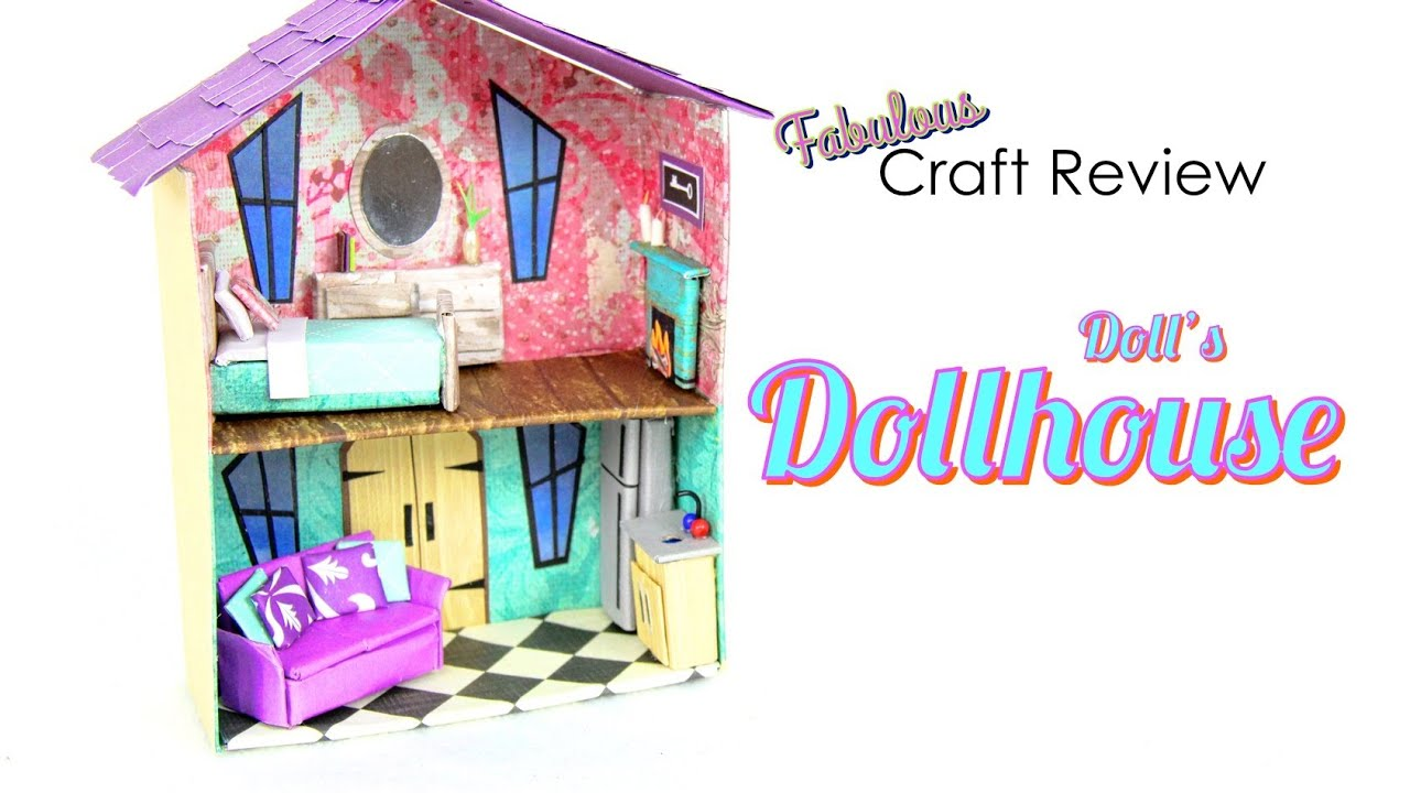 Fabulous Craft Review Doll S Dollhouse Youtube