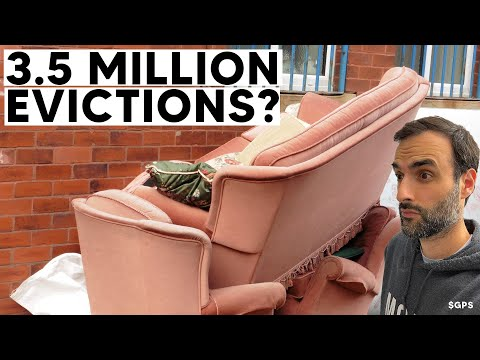 3.5 Million Households At Risk of Eviction! 750,000 Kicked Out By Year End?!