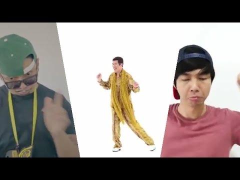 PPAP ( Pen Pineapple Apple Pen) Kompilasi Youtuber Indonesia