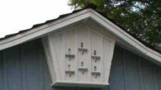 Bird House Home Decoration Under Roof - Home Siding Ideas