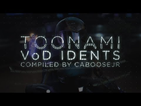 Toonami -  Video On Demand 2018 Ident Hodgepdge (HD 1080p)