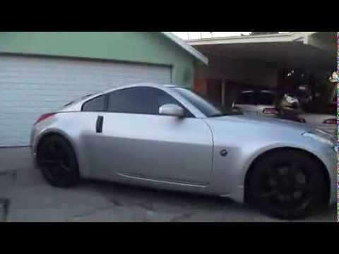 350Z Walkaround w/ Plasti Dip - YouTube