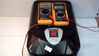 Стабилизатор напряжения Luxeon WDR-10000 релейный, обзор