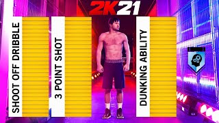 NBA 2K21 MOST IMPORTANT BUILD LEAK! HOW TO MAKE THE BEST BUILDS IN NBA2K21!