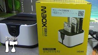 유니콘 MBOX DS-7000DUAL 2베이 도킹스테이션 백업 장치 개봉기 리뷰