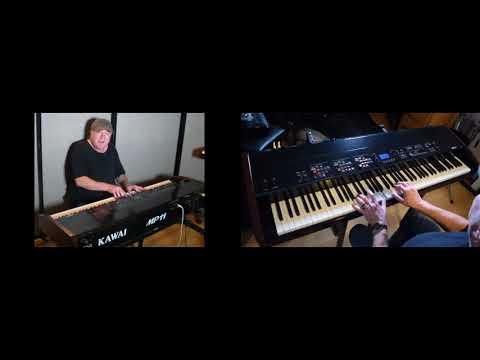 """Learn to play """"Carry On Wayward Son"""" (Kansas) on piano - with this MIDI file!"""