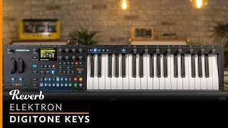 Elektron Digitone Keys 8-Voice Polyphonic Digital Synth | Reverb