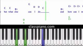 Download Lagu The Man Who Can't Be Moved - The Script, Piano Lesson Mp3
