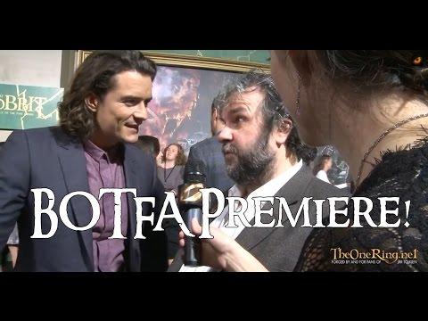 Happy Hobbit: BOTFA Premiere