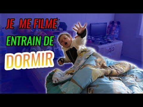 JE ME SUIS FILME EN TRAIN DE DORMIR ! 😨😴 || Le monde de Nathan