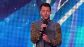 Merinding mendengar lagu ini- Golden boy Calum- Britain's Got Talent 2015-