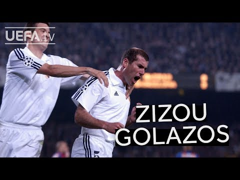 SIX OF THE BEST ZIDANE GOALS!