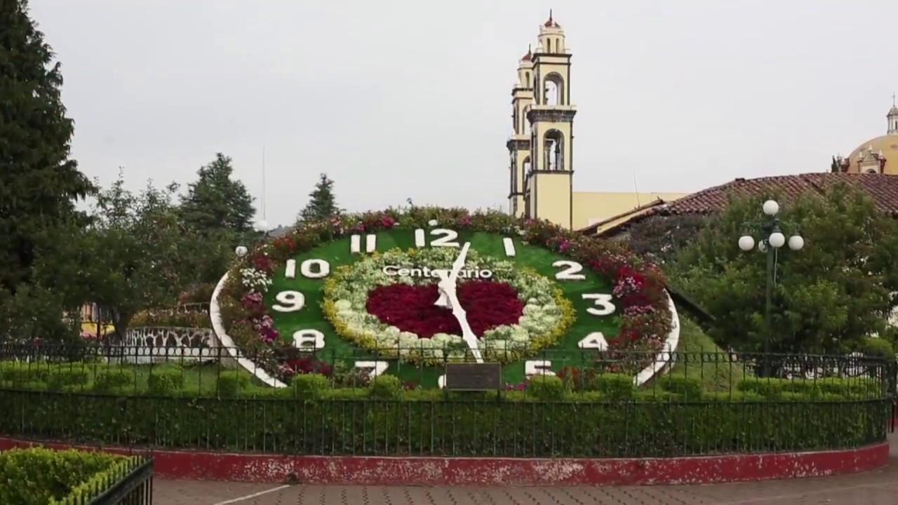 El reloj floral de Zacatlán es creación de Relojes Centenario.