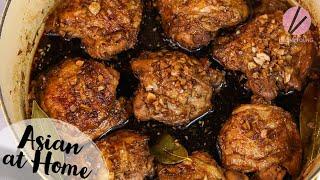 The BEST Filipino Chicken Adobo