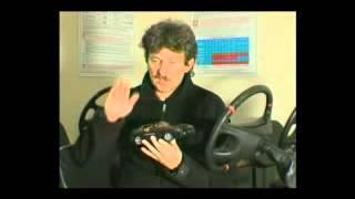 Видео урок экстремального вождения  Снос колёс