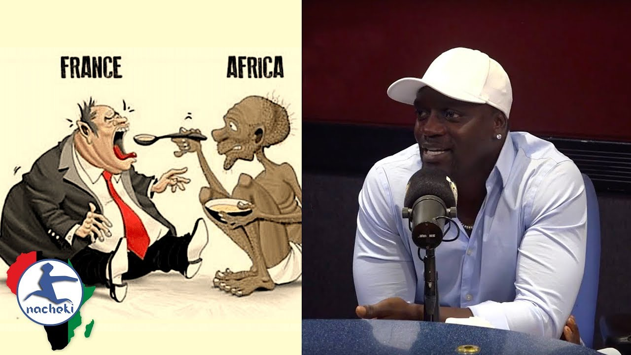 Akon Reveals His True Feeling on the Exploitation of Africa by France