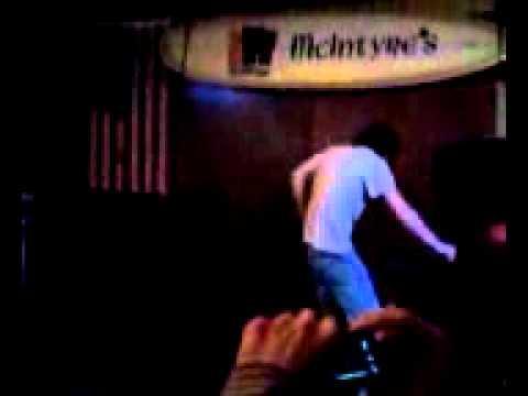 Good Vibrations by Marky Mark, sung at Karaoke Night by Hollywood