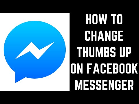 How To Change Thumbs Up On Facebook Messenger