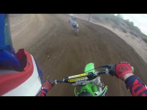 Canyon Motocross Track 11-16-16. Vlog #4